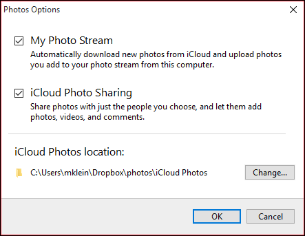How to Change Your Windows iCloud Photos Folder Location