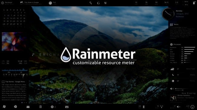 How to Use Rainmeter to Customize Your Windows Desktop
