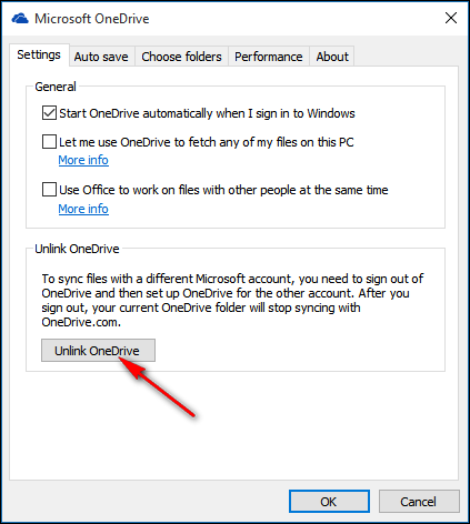 How to Change the Location of the OneDrive Folder in Windows 10