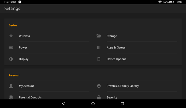 kindle fire app for pc