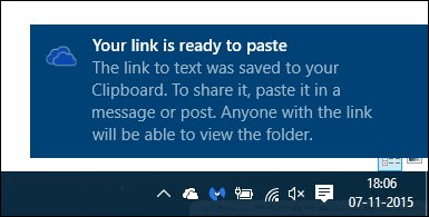 How to Share Files and Folders from OneDrive in Windows 10