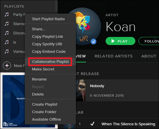 How to Manage Collaborative Playlists in Spotify