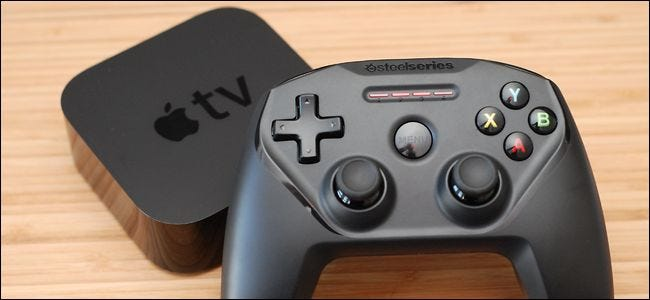 How to Add a Third Party Game Controller to Your Apple TV