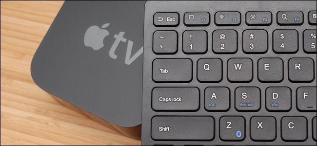 How to Use a Bluetooth Keyboard with Your Apple TV