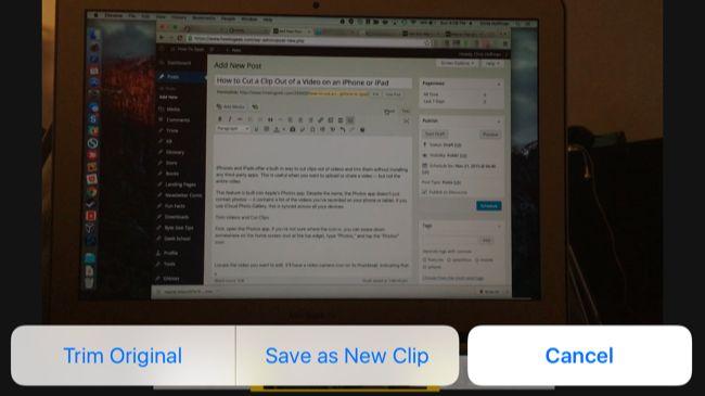 edit ipad videos