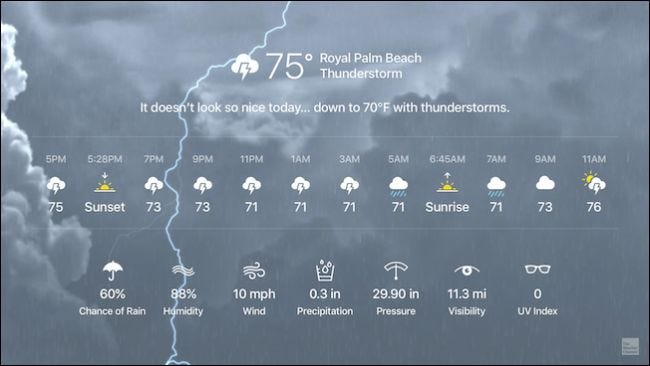 how to ask for a forecast