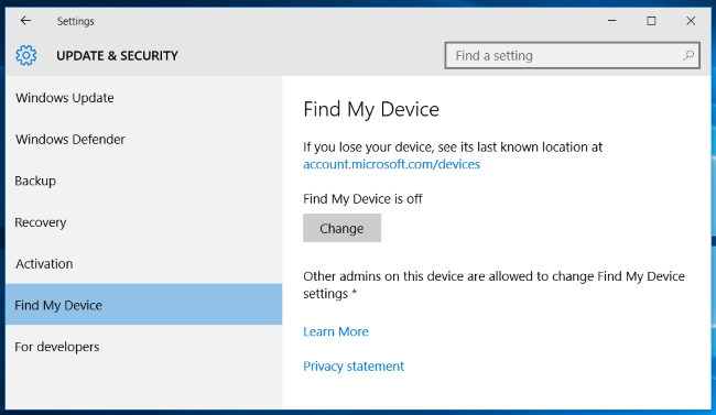 How to Track Your Windows 10 PC or Tablet If You Ever Lose It