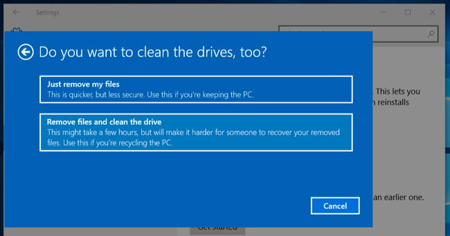 How to Wipe Drives From Windows, Mac, or a Bootable Disk