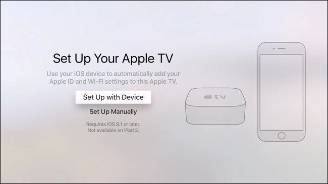 How to set up and configure your apple tv