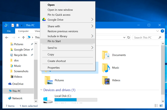 How to Pin Folders, Websites, Settings, Notes, and More to the Start Menu on Windows 10 ilicomm Technology Solutions