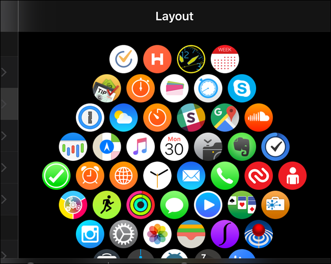 How to Rearrange the App Icons on Apple Watch