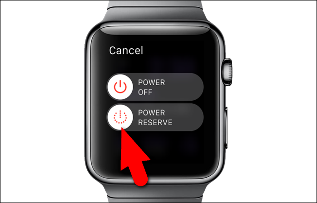 Turn Off power reserve.