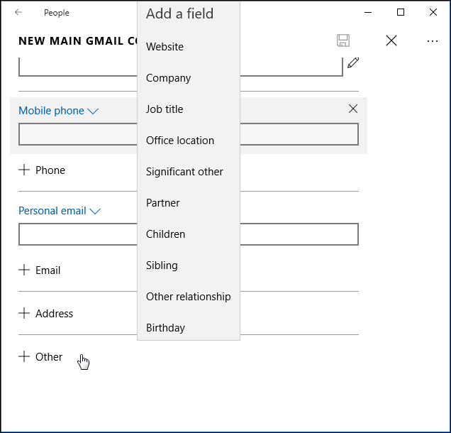 free address book software for windows 10