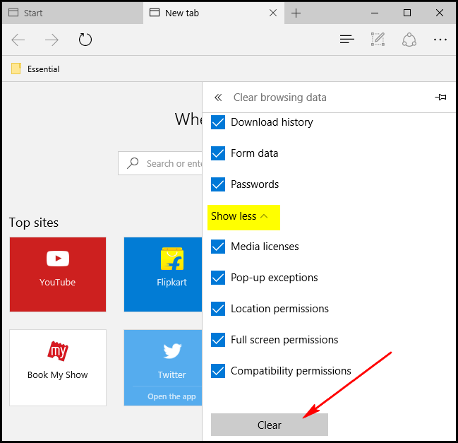 How to Reset Microsoft Edge in Windows 10 ilicomm Technology Solutions