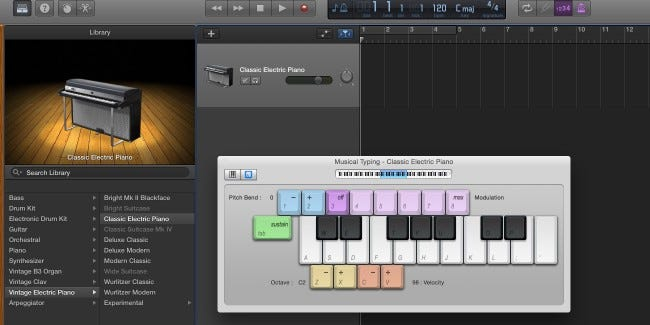 Getting Started with Garageband on OS X