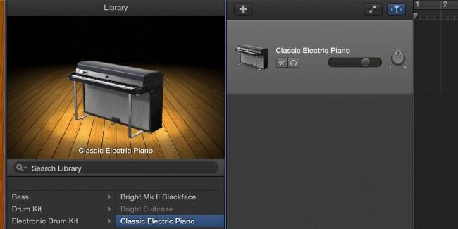 getting started with garageband on os x. Black Bedroom Furniture Sets. Home Design Ideas