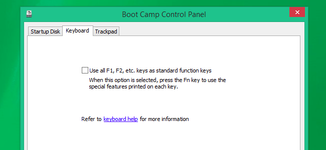 How to Choose Whether Your Function Keys are F1-F12 Keys or Special Keys