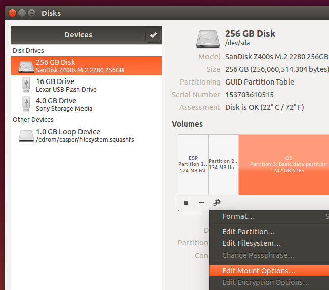 How to Mount Your Windows 10 (or 8) System Drive on Linux