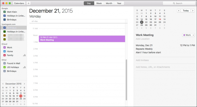 How to Add, Share, and Sync Calendars on Mac and iPhone