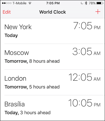 How to Add and Change World Clocks on the Apple Watch