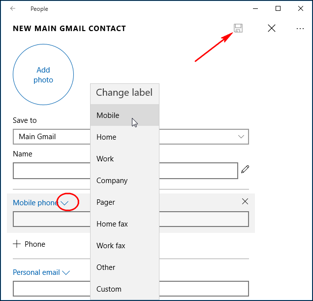 How to Add Contacts from Gmail, Outlook, and More to Windows 10's ...