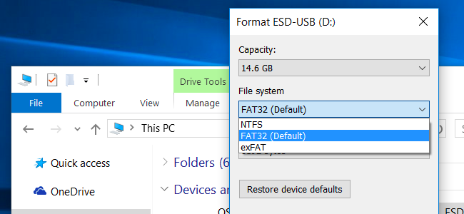 What are the differences between ext4 , NTFS and ReFS