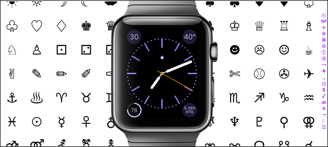 How to add custom characters to the apple watchs monogram urtaz Image collections