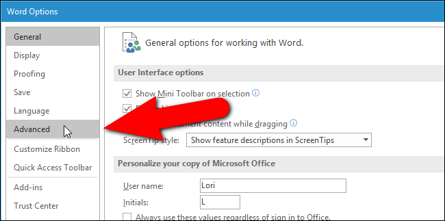word document how to stop footer showing on ever page
