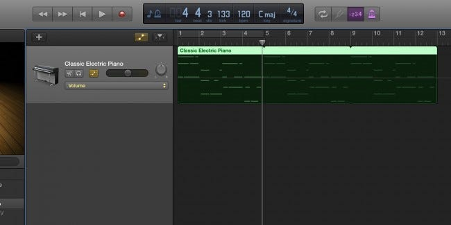 How to Automate Volume, Panning, and Other Effects in GarageBand