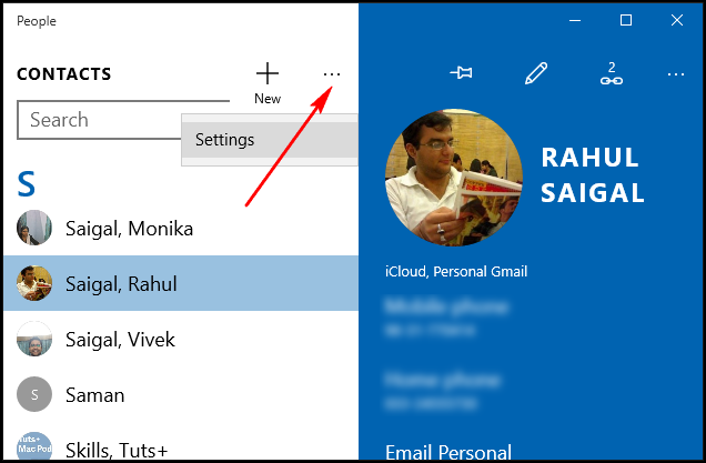 How to Customize and Filter Your Address Book in Windows 10