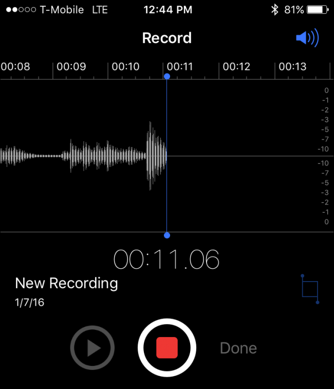 iphone voice memo how to create voice memos on your iphone 12445