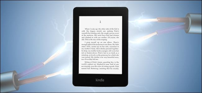 How to Maximize Your Kindle's Battery (and Really Get a Month of
