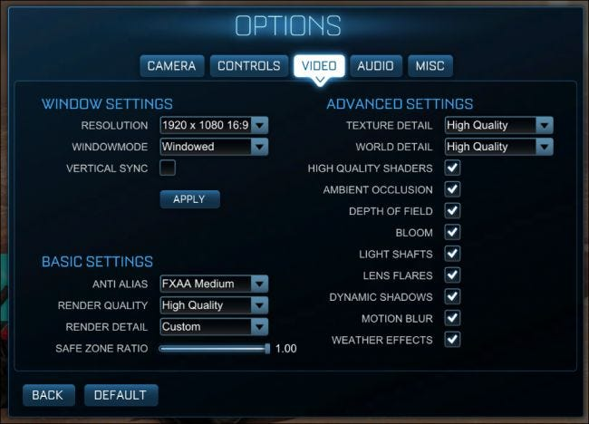 How to Tweak Your Video Game Options for Better Graphics and
