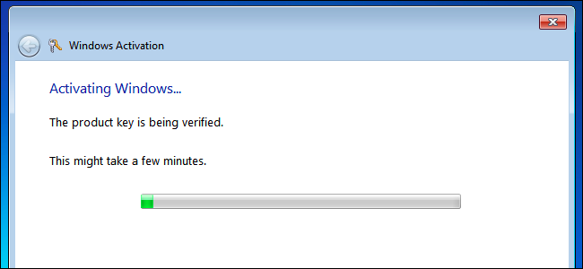 how long before use windows 7 activation key on another computer