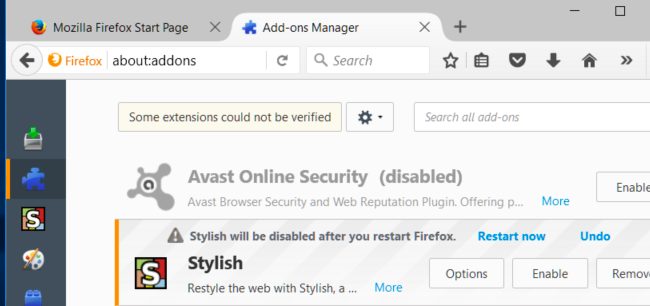 avast browser security and web reputation plugin