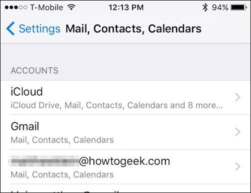how to delete your yahoo account on iphone
