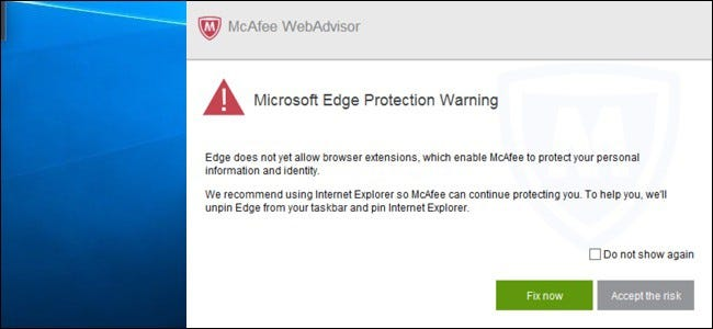 mcafee-webadvisor-edge-protection-warning