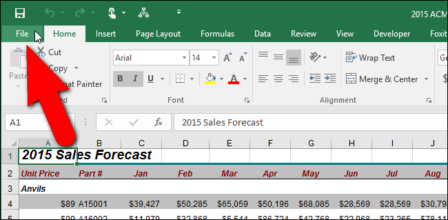 how to delete an excel file in word 2016