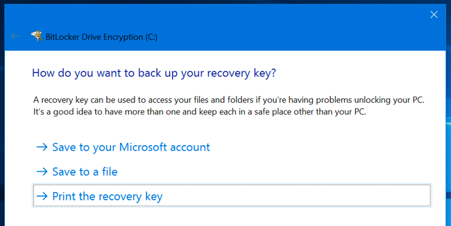 How to Remove Your Windows Disk Encryption Key From Microsoft's Servers ilicomm Technology Solutions