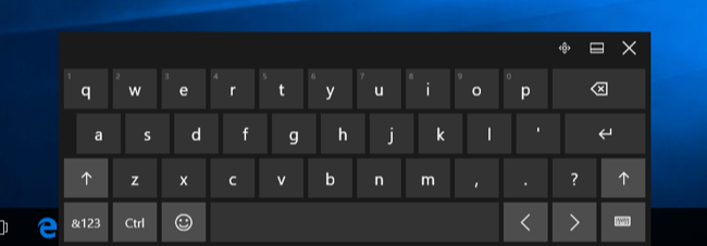 on screen keyboard windows 10 software