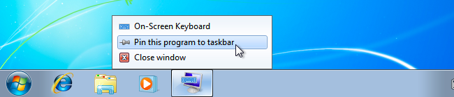 How to use the on-screen keyboard on windows 7 8 and 10