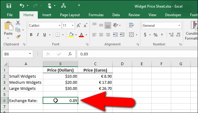 17_exchange_rate_on_worksheet