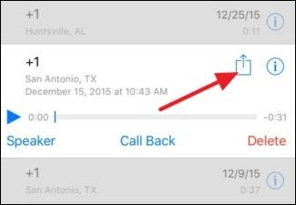 how to save a voicemail on iphone how to or save a voicemail on an iphone ilicomm 20270