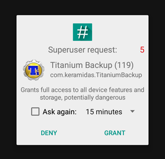 how to give an app superuser permissions