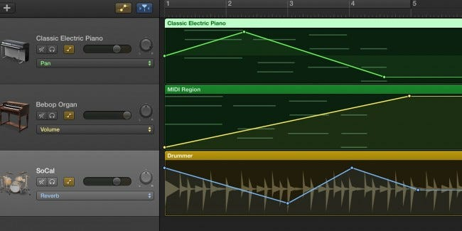 how to delete track from garageband