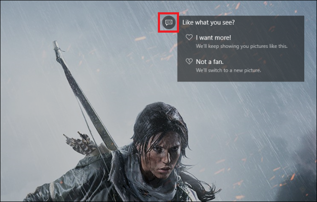 how to remove links from lock screen windows 10