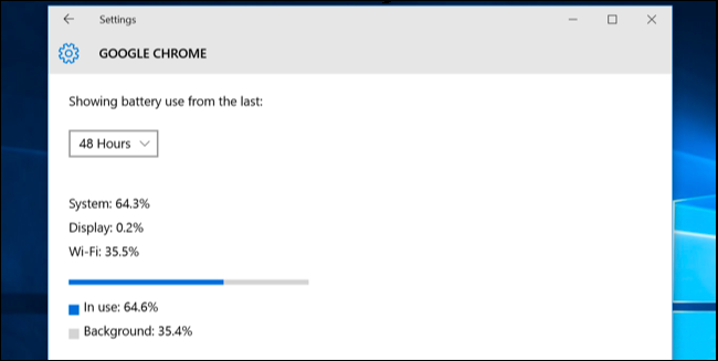 How to See Which Applications Are Draining Your Battery on Windows 10