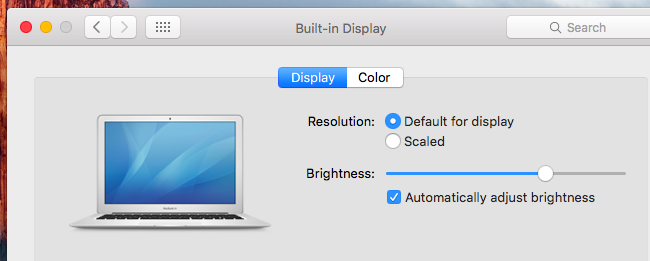 How to Adjust Your Mac's Screen Brightness, Manually and