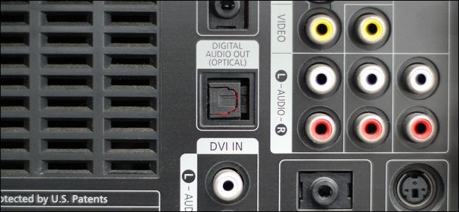 Uitzonderlijk What Is the Optical Audio Port, and When Should I Use It? FC84