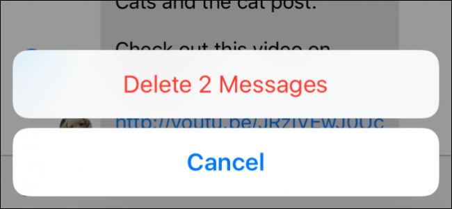 How to Delete or Forward Individual Text Messages on the iPhone